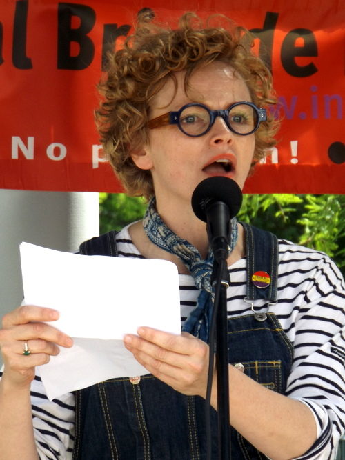 Maxine Peake on South Bank for Spanish Civil War commemoration