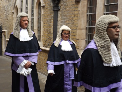Judges from Southwark courts assemble at cathedral for service