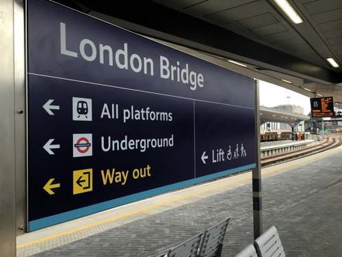 London Bridge Station: first section of new concourse now open