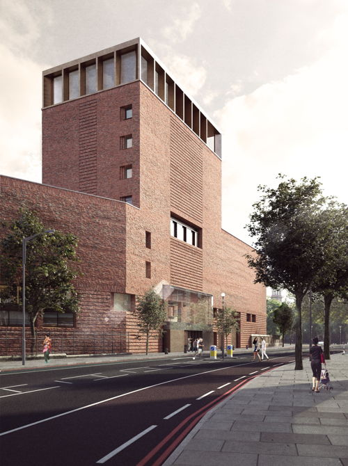 New building for Lambeth Palace Library opposite St Thomas'
