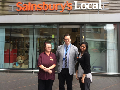 Sainsbury's Bermondsey Square to support cancer care charity