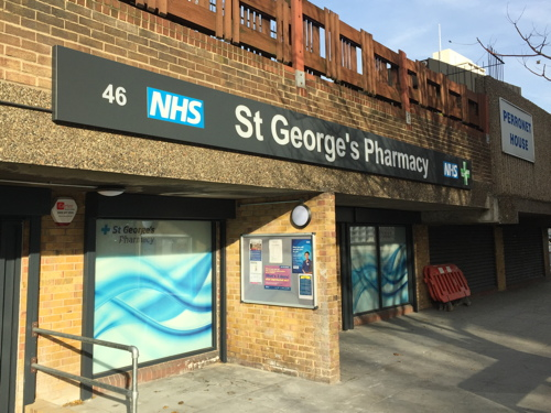 Neil Coyle highlights threat to future of St George's Pharmacy
