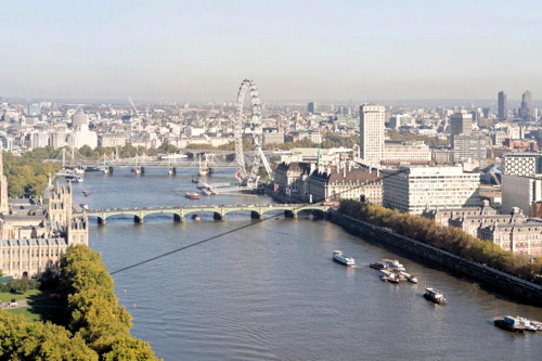 Thames zip wire to raise funds for Evelina Children's Hospital