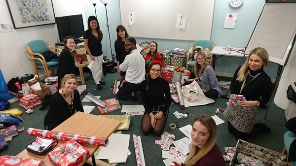 London Bridge firms and employees give 1,700 Christmas gifts