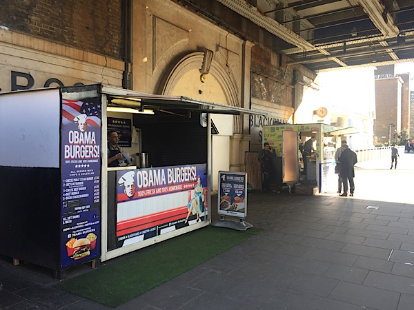 Southwark vetoes kiosks under Blackfriars Road railway bridge
