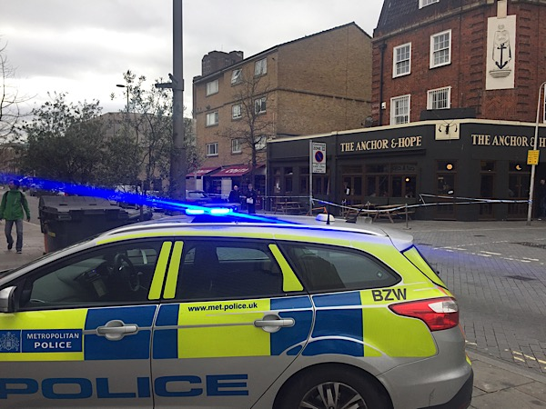 Man stabbed in Nelson Square on Sunday lunchtime