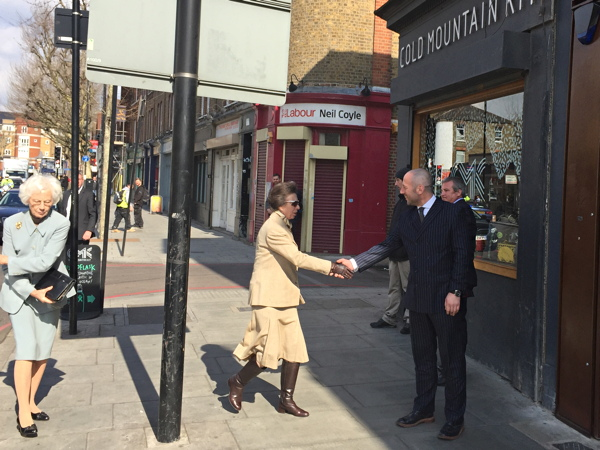 Princess Royal visits Tower Bridge Road jewellery workshop