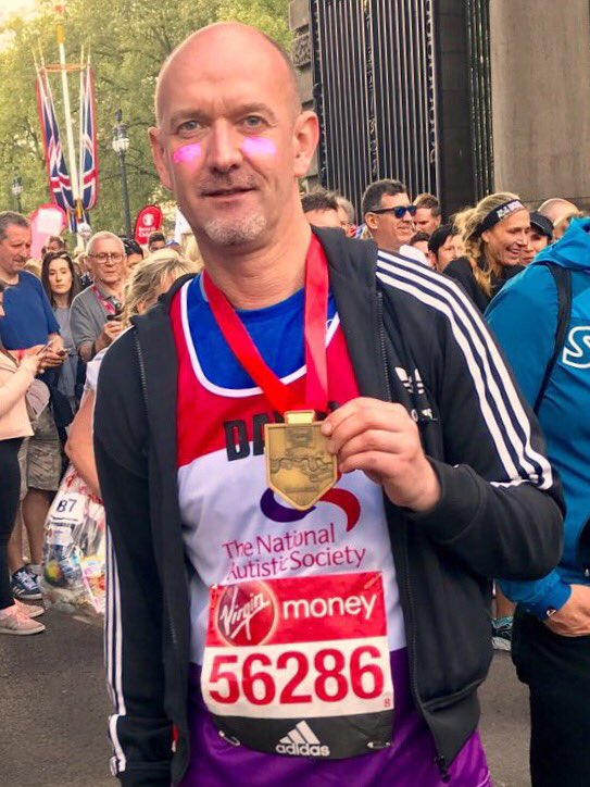 Cllr David Noakes runs marathon in support of local charities