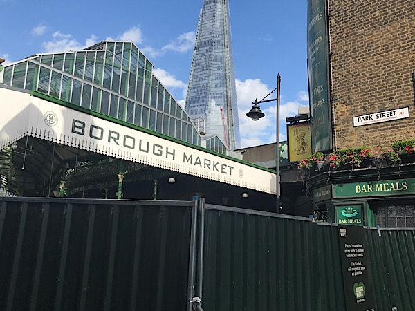 Borough Market reopens Wednesday; extra Sunday trading planned