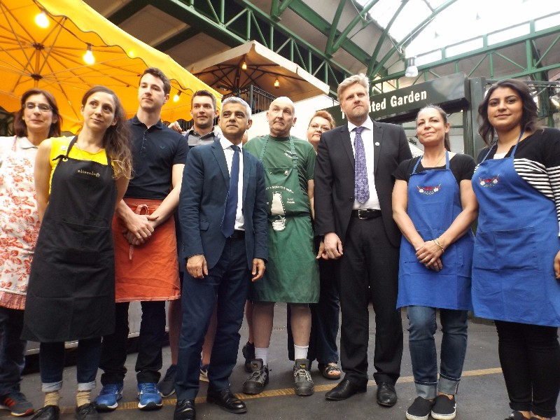 Borough Market is open