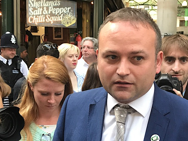 Neil Coyle calls on Theresa May to visit Borough Market