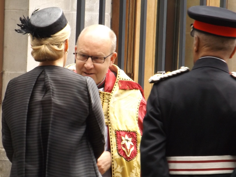 Countess of Wessex attends London Bridge service of hope