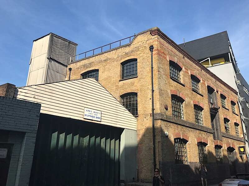 7-storey office block plan for Bermondsey Dragons' Den warehouse