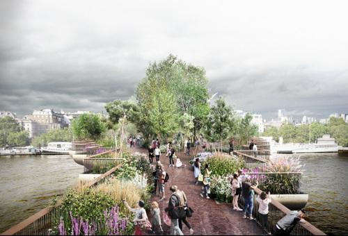 Garden Bridge project abandoned after lack of support from Mayor