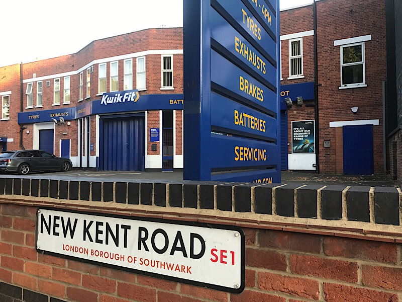 15-storey tower planned for New Kent Road Kwik Fit site