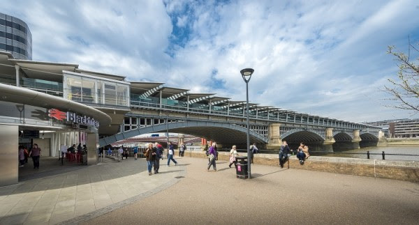 Blackfriars named major station of the year at rail awards