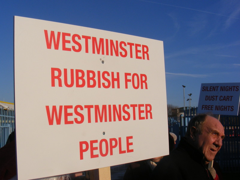 Westminster wants to park its rubbish trucks in Southwark