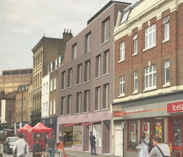 Lower Marsh: go-ahead for plans to redevelop old Waterloo Library