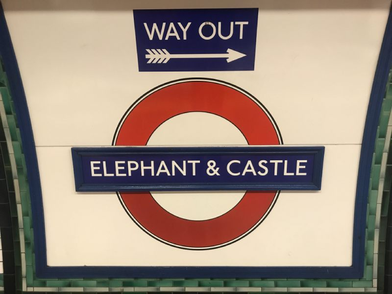 Rush-hour assault at Elephant tube station: police appeal