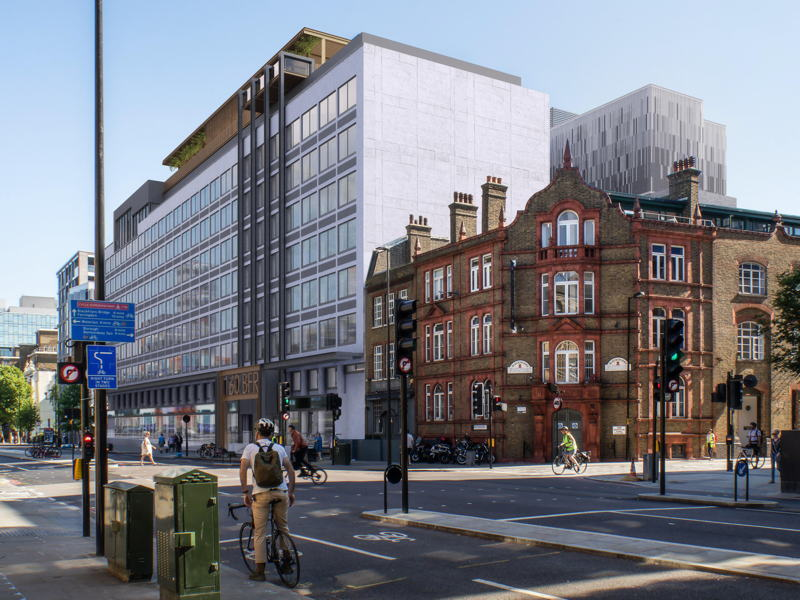 160 BFR: new hotel planned in Blackfriars Road car park