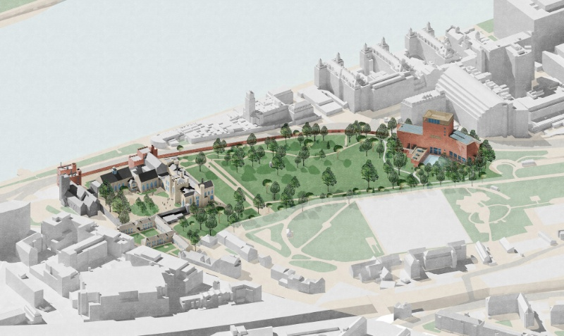 Work starts on new £23.5 million home for Lambeth Palace Library