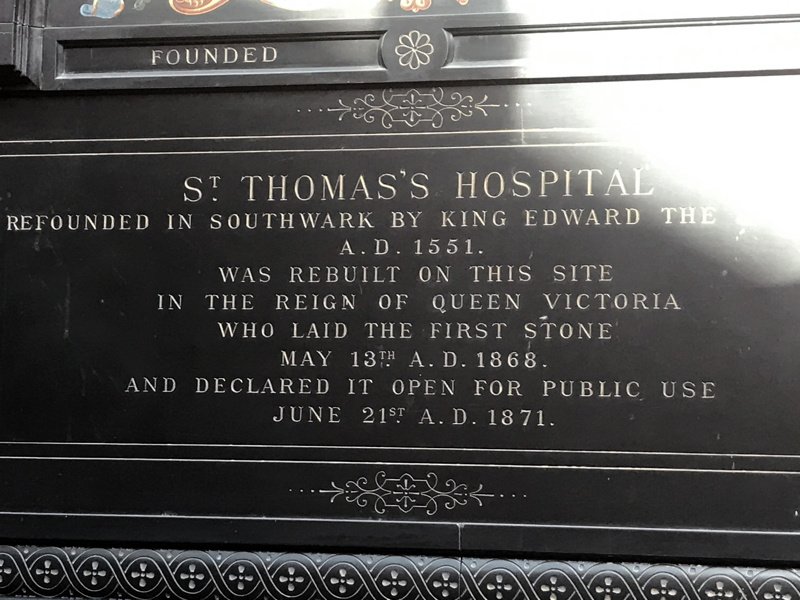 150 years since Queen Victoria started building of new St Thomas' Hospital
