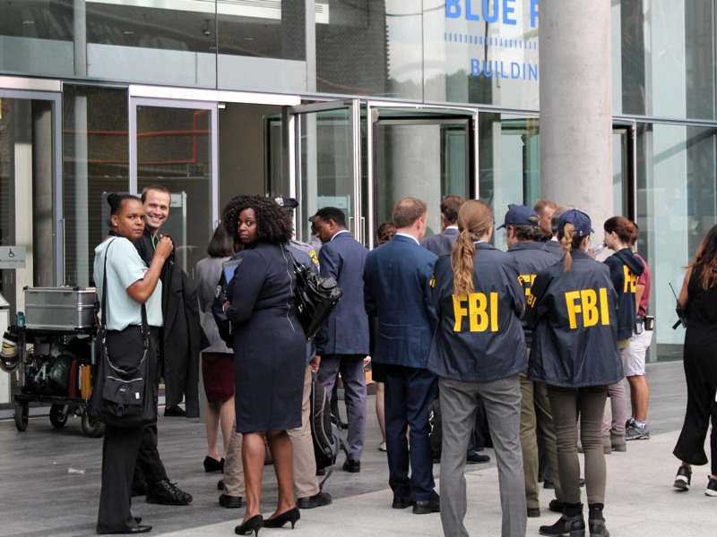 'FBI' at Blue Fin Building as film-makers descend on Bankside