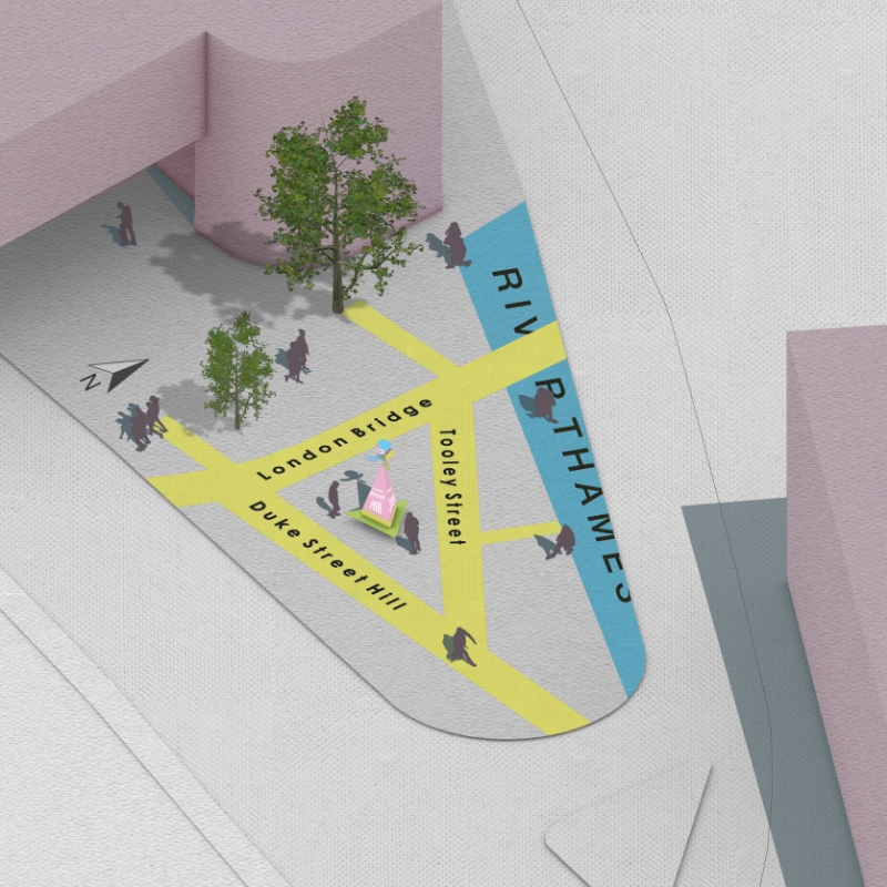 Winner selected for London Bridge wayfinding competition