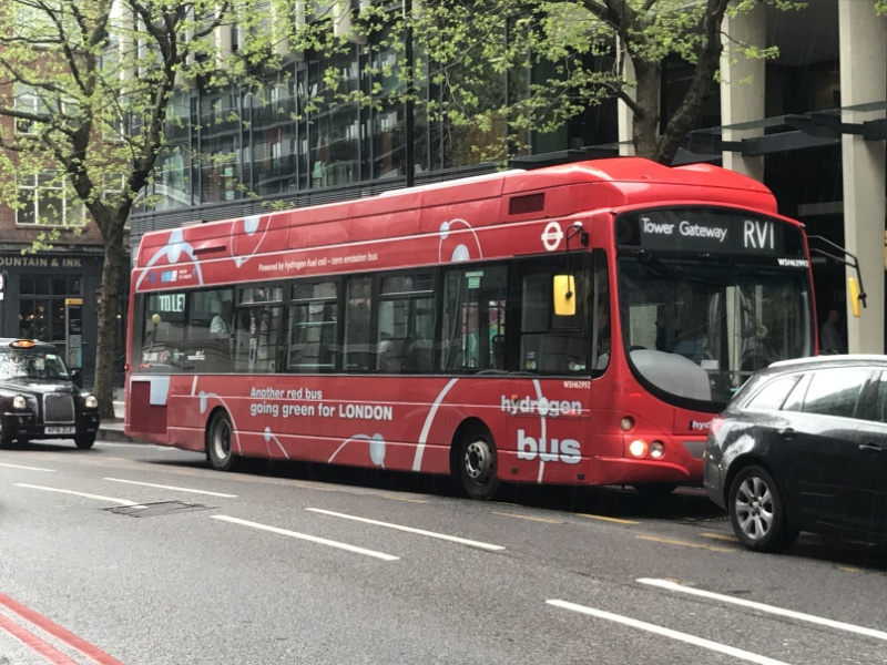 RV1 faces the axe in TfL central London bus route shake-up