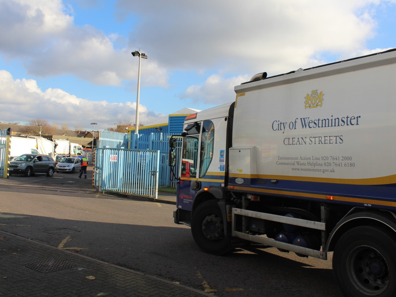 Westminster to relocate dustcart depot from Mandela Way