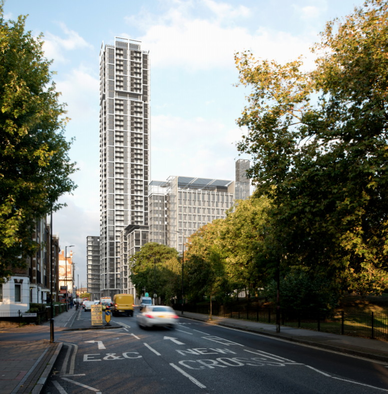 Old Kent Road skyscrapers: heritage watchdog's 'growing concern'