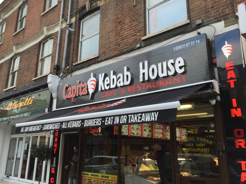 Capital Kebab House in The Cut - is it London's finest?