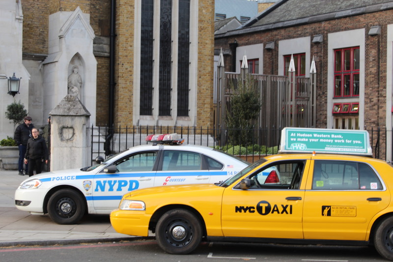 'FBI' and 'NYPD' take over Southwark's St George's Cathedral