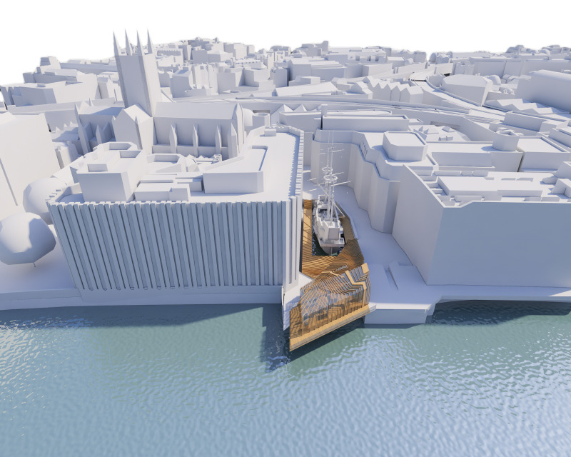 Golden Hinde: radical plans for St Mary Overie Dock