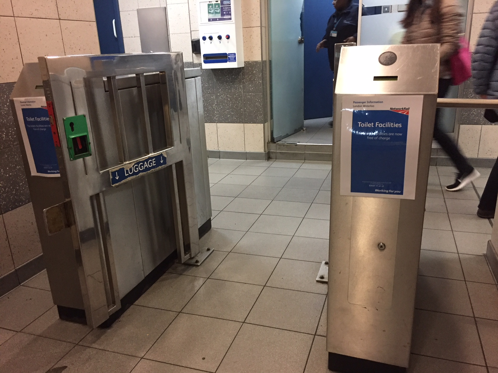 Network Rail drops 30p charge to use Waterloo toilets