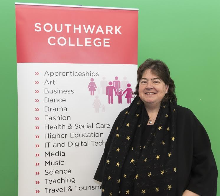 New principal Annette Cast takes the helm at Southwark College