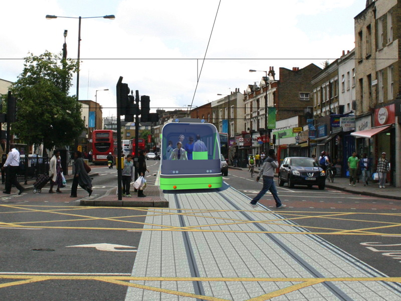 Southwark Supertram back on the agenda