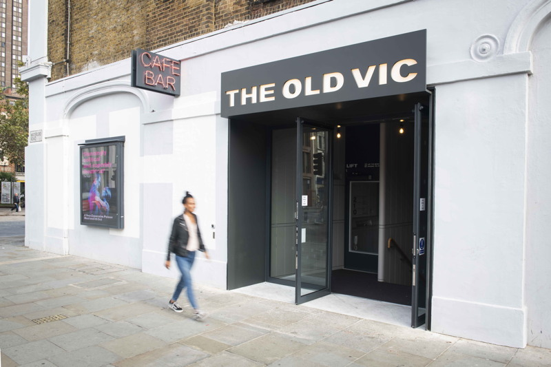 Old Vic marks completion of revamped front-of-house