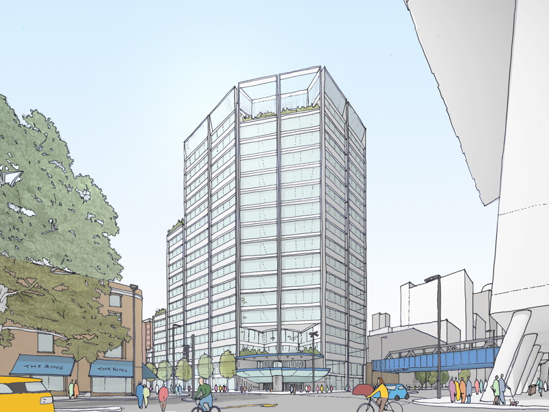TfL plans office block above Southwark Tube Station