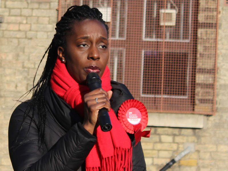 Florence Eshalomi elected as Vauxhall's new MP
