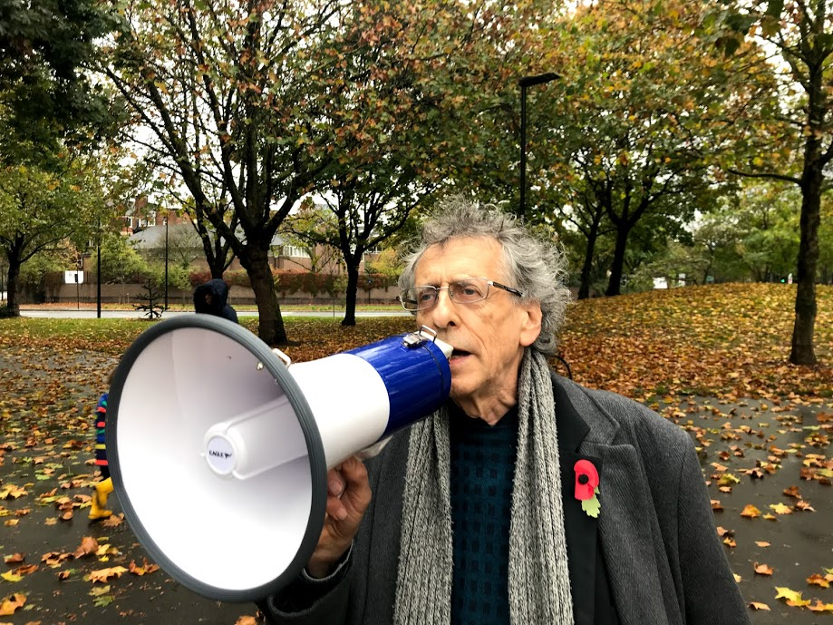 Piers Corbyn issued with penalty at anti-lockdown protest