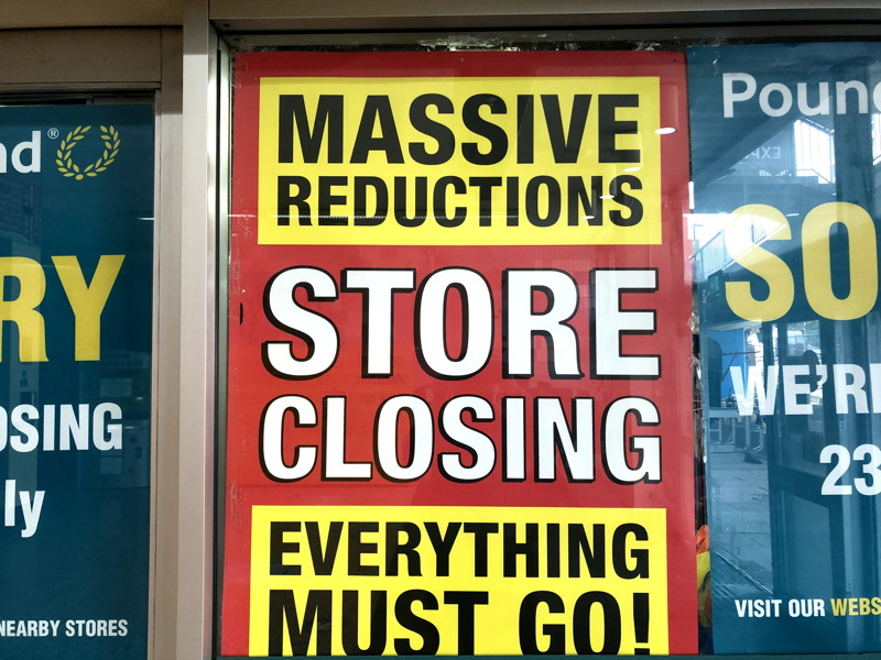 Halloween and Christmas at Elephant as Poundland prepares to shut