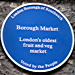 Borough Market blue plaque unveiled by Mayor of Southwark