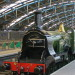 Engineer's great great grandson visits Waterloo to see Railway Children locomotive