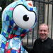Wenlock Olympic mascot arrives at Southwark Cathedral