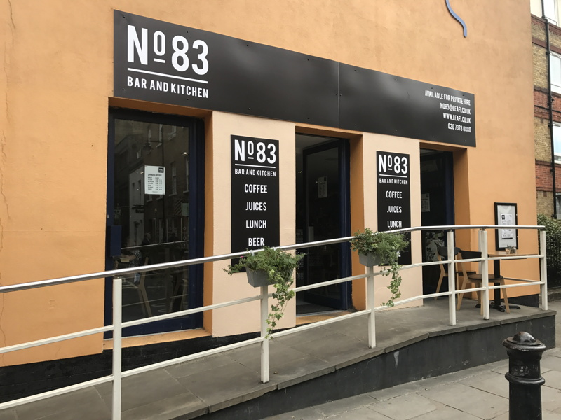 No 83 Bar & Kitchen